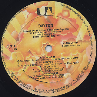 Dayton / S.T. label