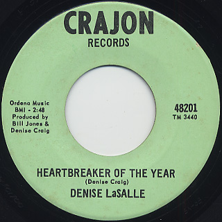 Denise LaSalle / Too Late To Check Your Trap back