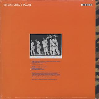 Freddie Gibbs & Madlib / Knicks Remix back