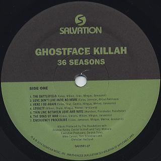 Ghostface Killah / 36 Seasons label