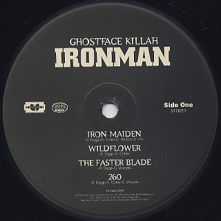Ghostface Killah / Ironman label