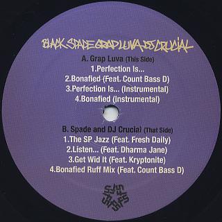 Grap Luva & Black Spade / EP label