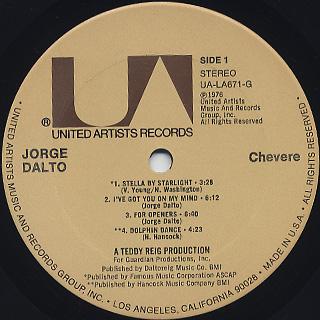 Jorge Dalto / Chevere label
