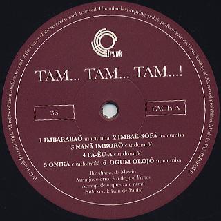 Jose Prates / Tam... Tam... Tam! label