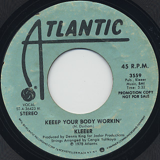 Kleeer / Keeep Your Body Workin'(45)