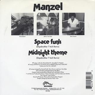 Manzel / Space Funk c/w Midnight Theme back