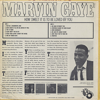 Marvin Gaye / How Sweet It Is To Be Loved By You back