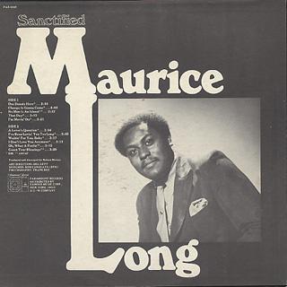 Maurice Long / Sanctified back