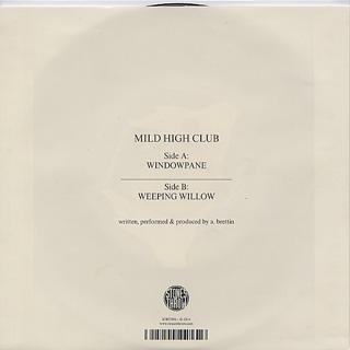 Mild High Club / Windowpane back
