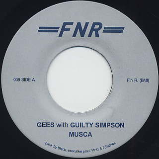Musca (aka Black) feat Guilty Simpson / Gees