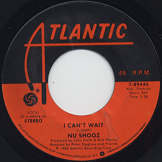 Nu Shooz / I Can't Wait (45)