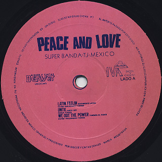 Peace And Love / S.T. label
