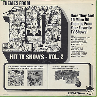 Pop Singers And Orchestra / Themes From Hit TV Show vol.2 back