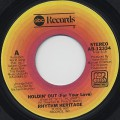 Rhythm Heritage / Holdin' Out (For Your Love)(45)
