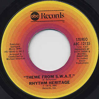 Rhythm Heritage / Theme From S.W.A.T.(45)