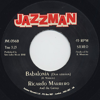Ricardo Marrero And The Group / Babalonia back