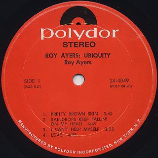 Roy Ayers / Roy Ayers: Ubiquity label