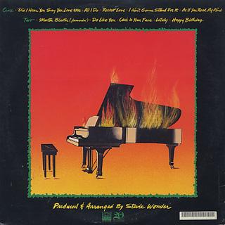 Stevie Wonder / Hotter Than July back