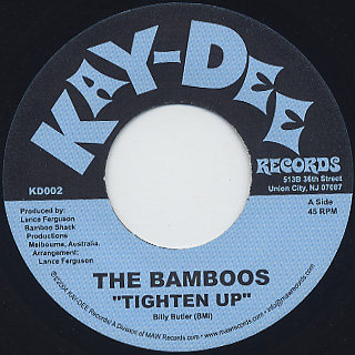 Bamboos / Tighten Up front