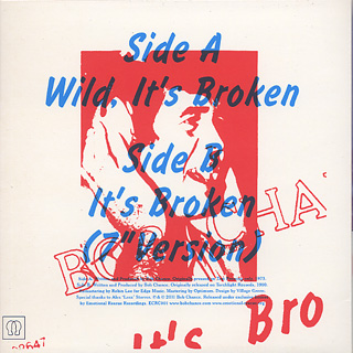 Bob Chance / Wild It's Broken (7