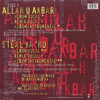 Brand Nubian / Allah U Akbar back