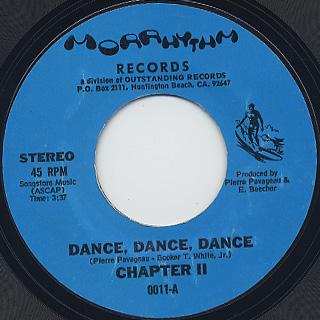 Chapter II / Dance, Dance, Dance