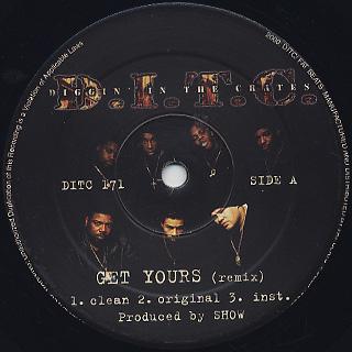 D.I.T.C. / Get Yours (Remix)