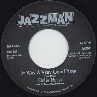 Della Reese / It Was A very Good Year