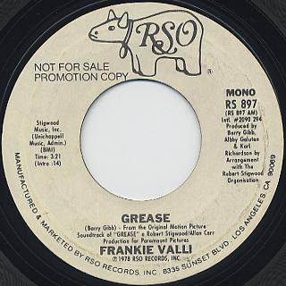 Frankie Valli / Grease back