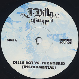 J Dilla / Jay Stay Paid (2LP+7) label