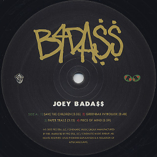 Joey Bada$$ / B4.DA.$$ label