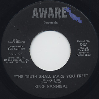 King Hannibal / The Truth Shall Make You Free