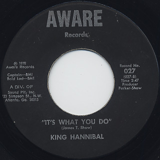 King Hannibal / The Truth Shall Make You Free back