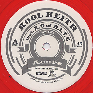 Kool Keith / Acura front