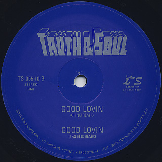 Lady / Good Lovin back