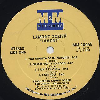 Lamont Dozier / Lamont label