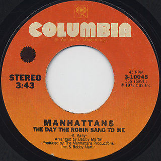 Manhattans / Don't Take Your Love From Me back