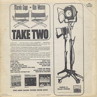 Marvin Gaye & Kim Weston / Take Two back