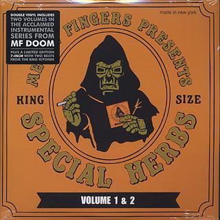 Metal Fingers / Special Herbs Vol 1&2 (2LP+7)