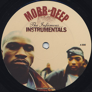 Mobb Deep / The Infamous... Instrumentals front