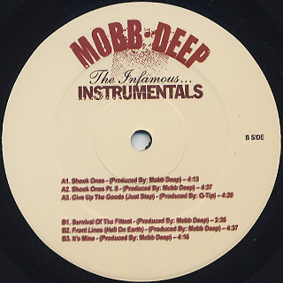 Mobb Deep / The Infamous... Instrumentals back