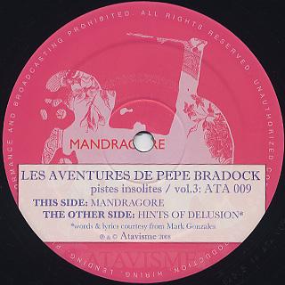 Pepe Bradock / Les Aventures De Pepe Bradock / Pistes Insolites Vol. 3