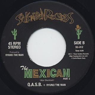 Q.A.S.B. + Ryuhei The Man / The Mexican back