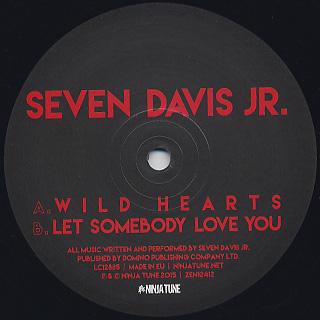 Seven Davis Jr. / Wild Hearts label