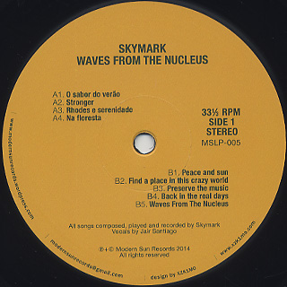 Skymark / Waves From The Nucleus label