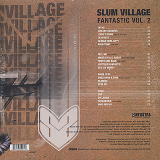 Slum Village / Fantastic Vol.2 (2LP+7) back