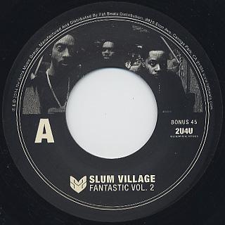Slum Village / Fantastic Vol.2 (2LP+7) label