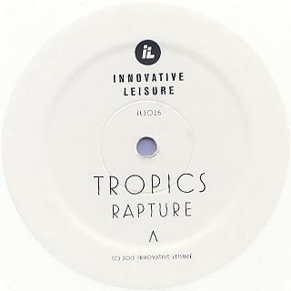 Tropics / Rapture label