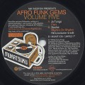 V.A. / Nik Weston Presents Afro Funk Gems Volume 5