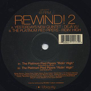 V.A. / Rewind! 2 label